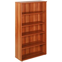 Avior Tall Bookcase, 1800mm High, Cherry