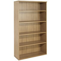 Avior Tall Bookcase, 1800mm High, Ash