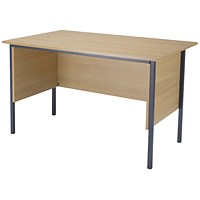Jemini Intro Traditional Desk, 1200mm Wide, Oak