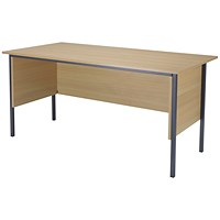 Jemini Intro Traditional Desk, 1500mm Wide, Oak