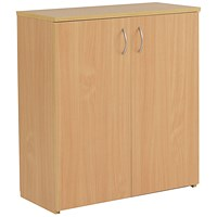 Jemini Intro Low Cupboard - Beech