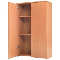 Jemini Intro Medium Cupboard - Beech
