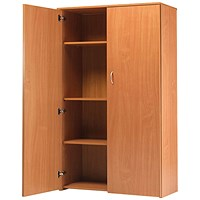 Jemini Intro Tall Cupboard - Beech