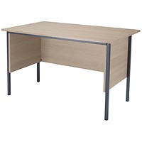 Jemini Intro Traditional Desk, 1200mm Wide, Maple