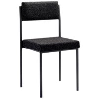 FF First Stacking Chair Charcoal FRKF04000