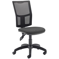 FF First Medway Mesh High Back Operator Chair Black