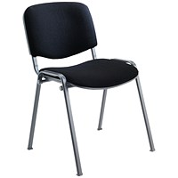 Jemini Ultra Multipurpose Stacker Chair Black