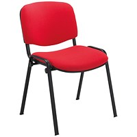 Jemini Ultra Multipurpose Stacker Chair Red