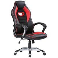 Racer Gaming Chair Red/Black