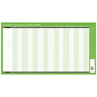 Q-Connect 2020-2021 Unmounted Holiday Planner - 754 x 410mm