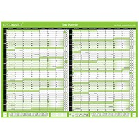 Q-Connect 2020-2021 Unmounted 16 Month Planner - A2
