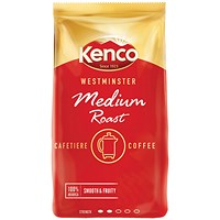 Kenco Westminster Medium Roast Cafetiere Coffee 1kg