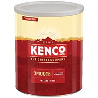 Kenco Really Smooth Instant Coffee - 750g Tin