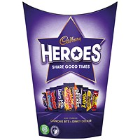Cadbury Heroes Chocolates Tub 185G 669020
