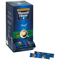 Maxwell House Instant Decaf Sticks (Pack of 200)