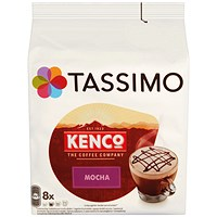 Tassimo Kenco Mocha Pods (Pack of 8)