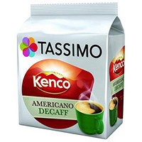 Tassimo Kenco Decaff Americano - Pack of 80
