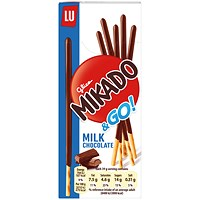 Mikado Milk Sticks Biscuit 39g (Pack of 24) 750535