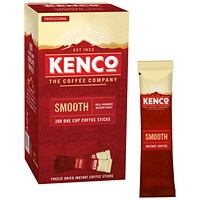 Kenco Smooth Instant Coffee Sticks 1.8g (Pack of 200)