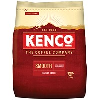 Kenco Smooth Instant Coffee Refill Bag - 650g