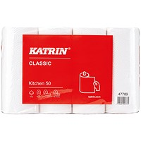 Katrin Classic Kitchen Roll 50 Sheet (Pack of 32)