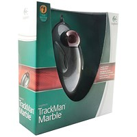 Logitech Marble Trackball Optical Mouse 08 USB