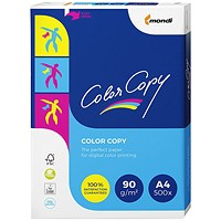Color Copy A4 Paper White, 90gsm, Ream (500 Sheets)