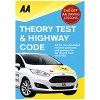 AA Driving Test Theory and Highway Code Book