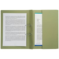 Pocket Spiral Files 285gsm Foolscap Green (Pack of 25) TPFM-GRNZ