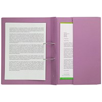 Pocket Spiral Files 285gsm Foolscap Pink (Pack of 25)TPFM-PNKZ