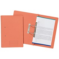 Spiral Files 285gsm Foolscap Orange (Pack of 50) TFM50-ORGZ