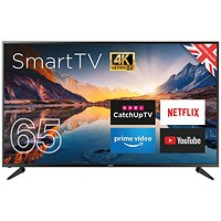 Cello 65in 4K Smart Ultra HD LED TV C65RTS4K