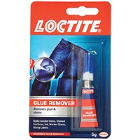Loctite Glue Remover 5g (Removes super glue from clothing, skin and most surfaces) 1623766