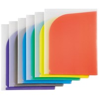 Tarifold 8 Pocket Folders A4/A3 Assorted (Pack of 6)