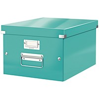 Leitz WOW Click and Store Box Medium Ice Blue