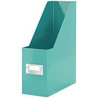 Leitz WOW Click and Store Magazine File Ice Blue