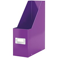 Leitz WOW Click and Store Magazine File Purple