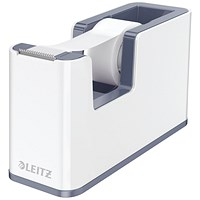 Leitz WOW Tape Dispenser Dual Colour White/Grey