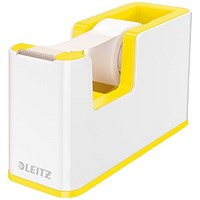 Leitz WOW Tape Dispenser Dual Colour White/Yellow