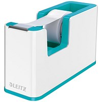 Leitz WOW Tape Dispenser Dual Colour White/Ice Blue