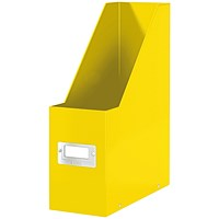 Leitz WOW Click and Store Magazine File Yellow