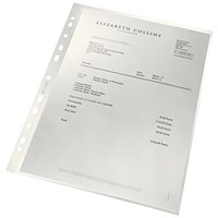 Leitz A4 ReCycle Punched Pockets - Pack of 100