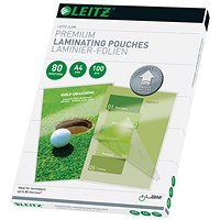 Leitz iLAM Prem Laminating Pouch A4 160 Micron (Pack of 100)