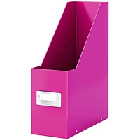 Leitz Click & Store Magazine File Pink (103mm spine whitch is laminiated for lasting use)