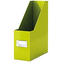 Leitz Click & Store Magazine File Green (Back and front label holder for easy indexing)