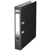 Leitz Board Mini Lever Arch File A4 52mm Black