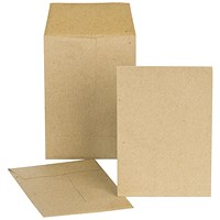 New Guardian Lightweight Pocket Envelopes, 98x67mm, Manilla, Gummed, Pack of 2000