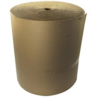 Corrugated Paper Roll Recycled Kraft 650mmx75m SFCP-0650