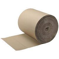 Corrugated Paper Roll Recycled Kraft 900mmx75m SFCP-0900