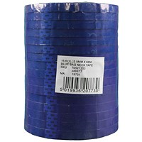 Polypropylene Tape 9mmx66m Blue (Pack of 16) 70521253